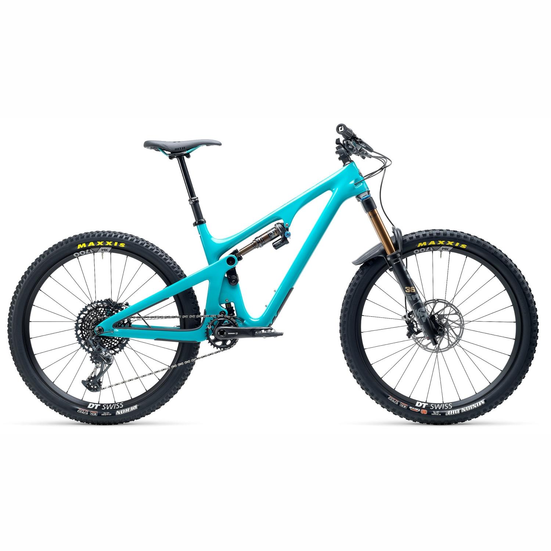 "Image of Yeti Cycles SB140 - T2 27.5"" Carbon Mountainbike - 2021 - Turquoise"
