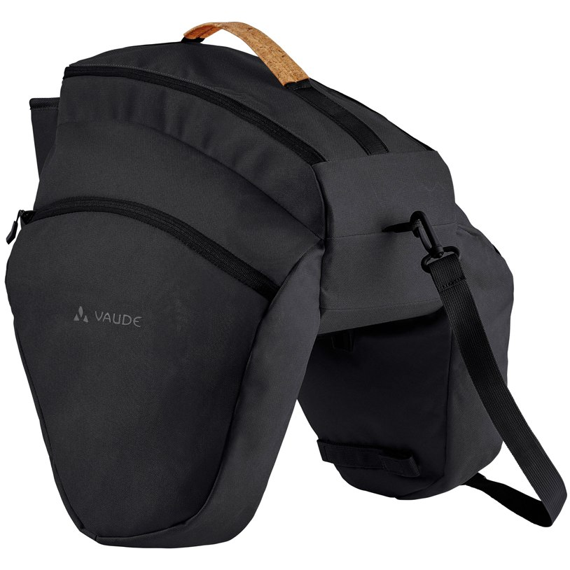 Image of Vaude eSilkroad Plus Back Pannier - black