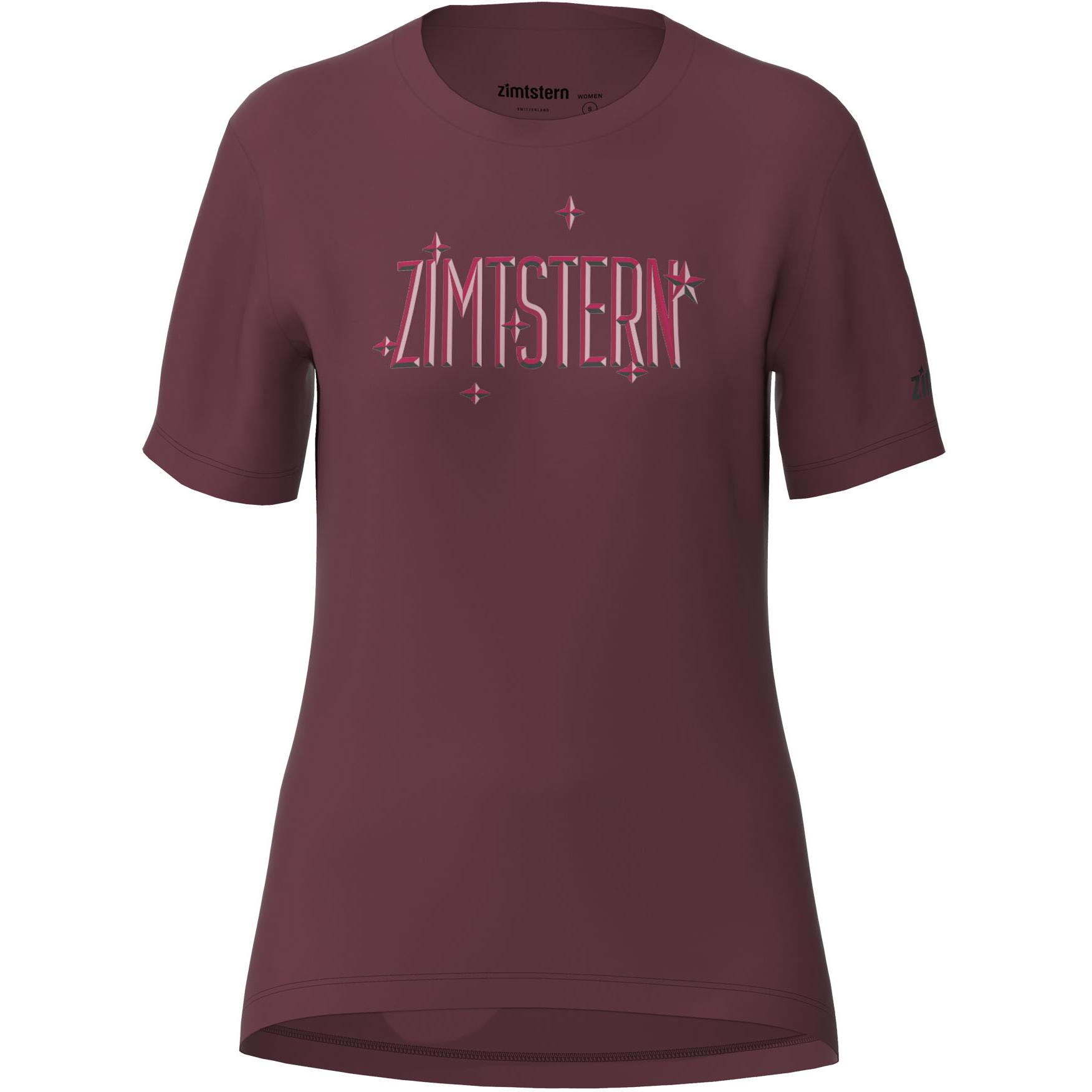 Zimtstern Starduzt T-Shirt Damen - windsor wine