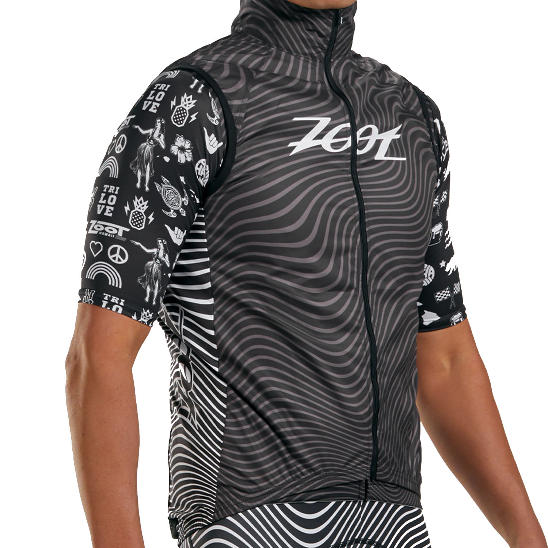 ZOOT LTD Cycle Chaleco para bicicletas para hombres - tri love