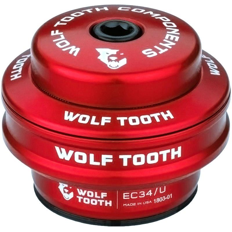 Wolf Tooth Precision EC Steuersatz Oberteil - EC34/28.6 - rot