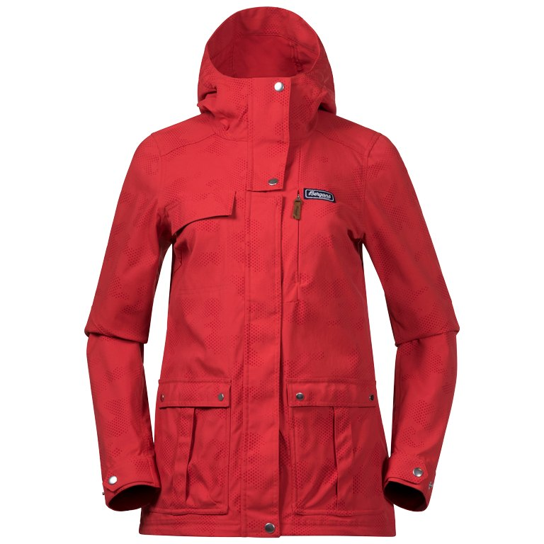 Bergans Nordmarka Women's Jacket - red sand camo