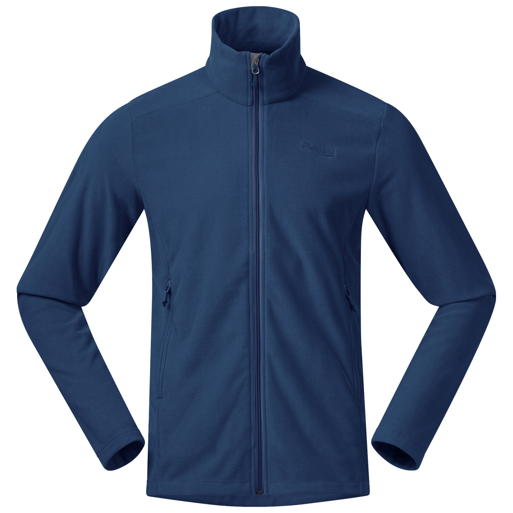 Produktbild von Bergans Finnsnes Fleece Jacke - dark riviera blue