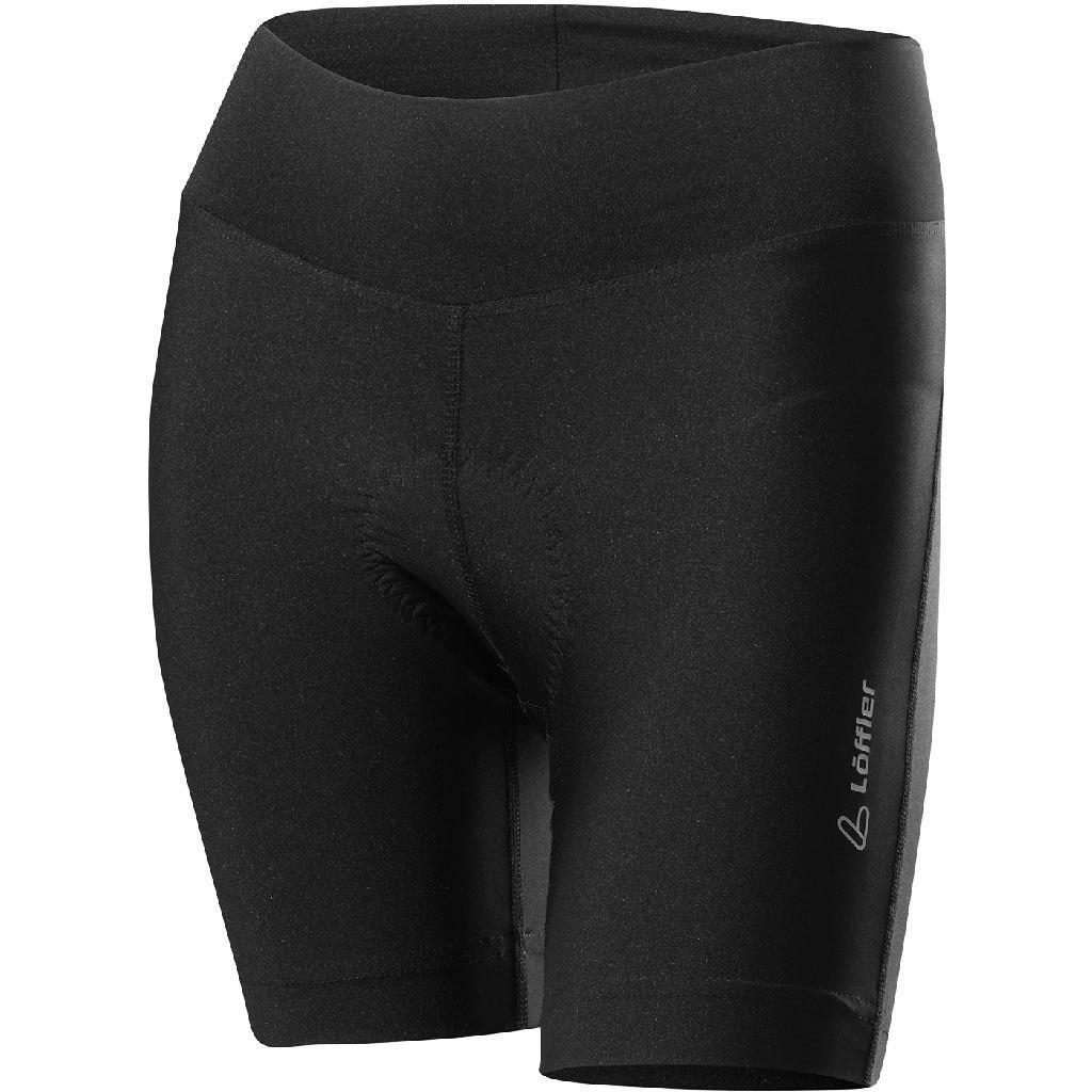 Löffler Bike Shorts Tour - Extra Kurz - Damen 13639 - black 999
