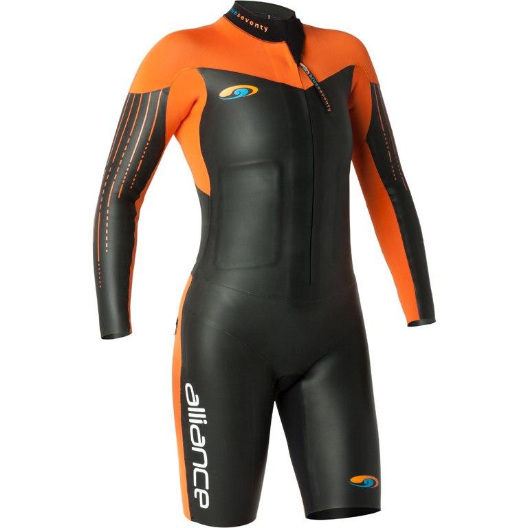 blueseventy Alliance SwimRun Suit - black/orange