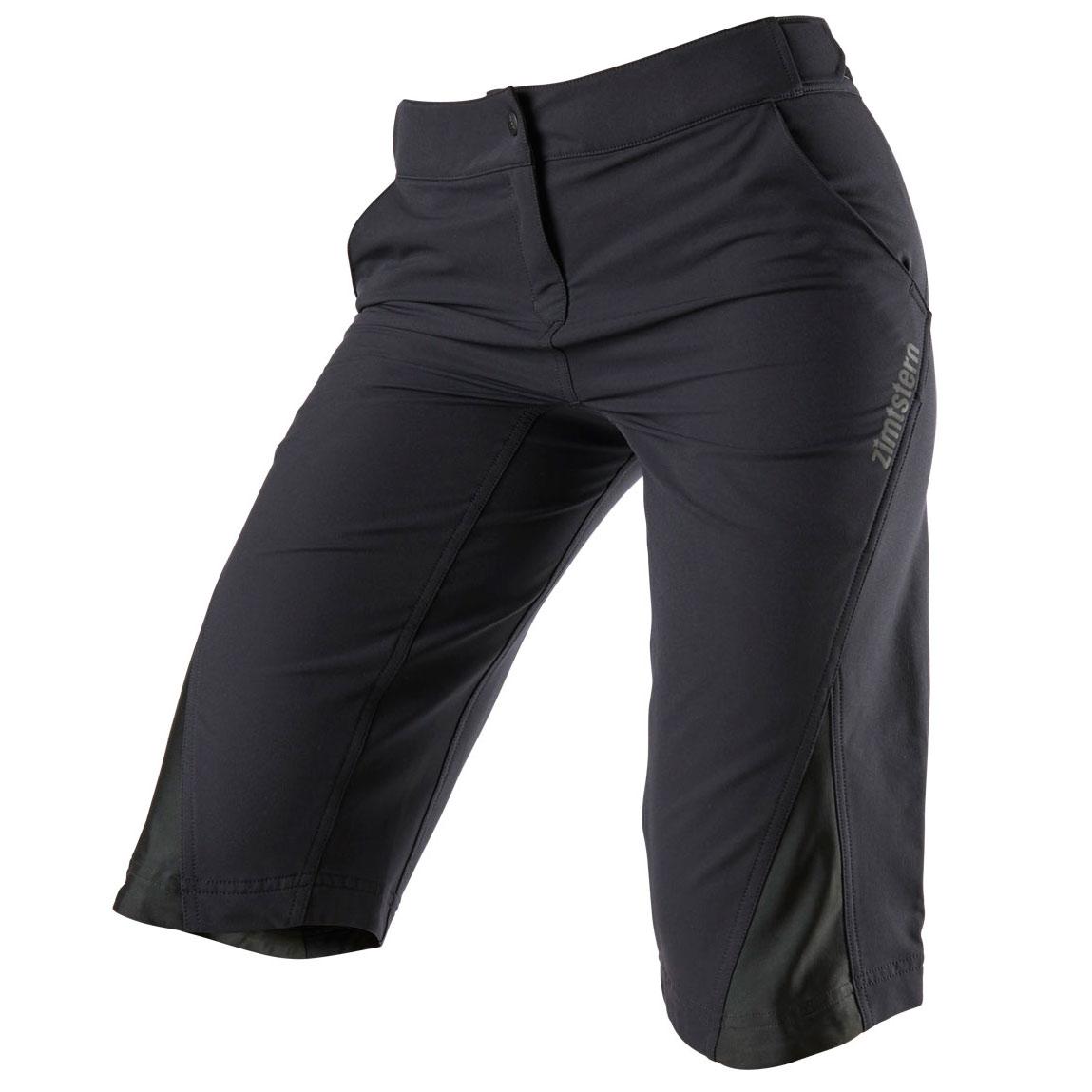 Zimtstern StarFlowz MTB-Shorts für Damen - pirate black