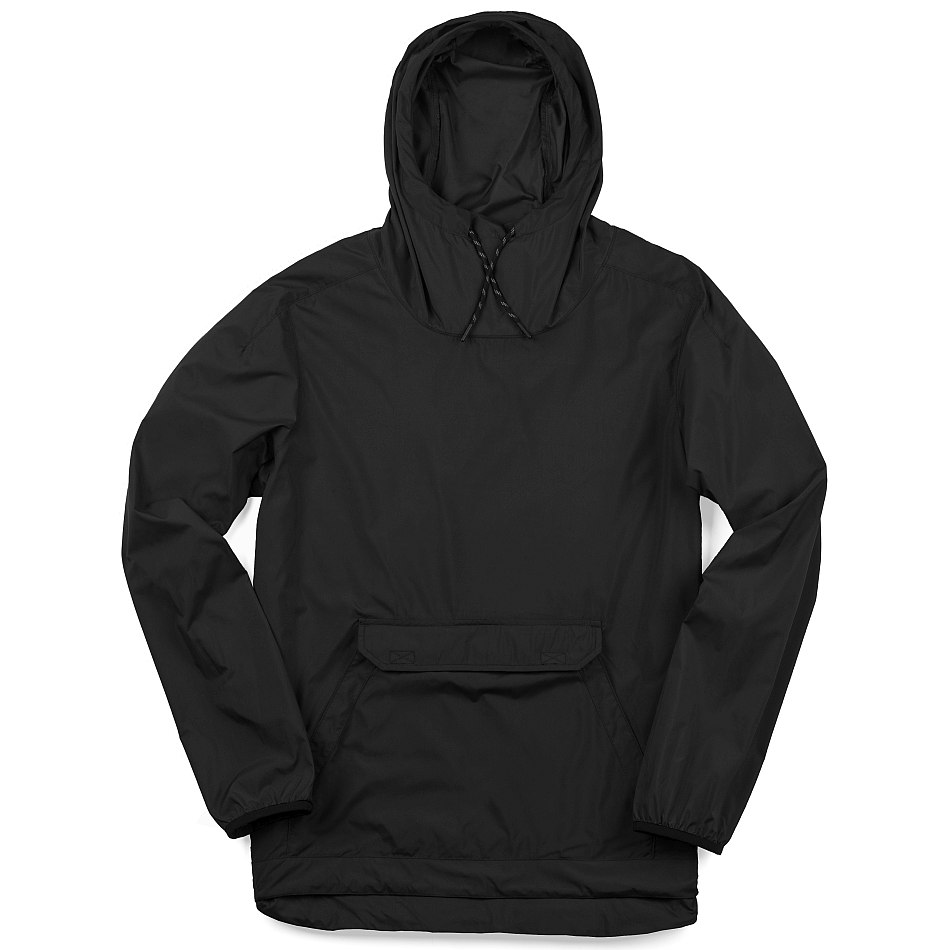 CHROME Buckman Packable Anorak - black