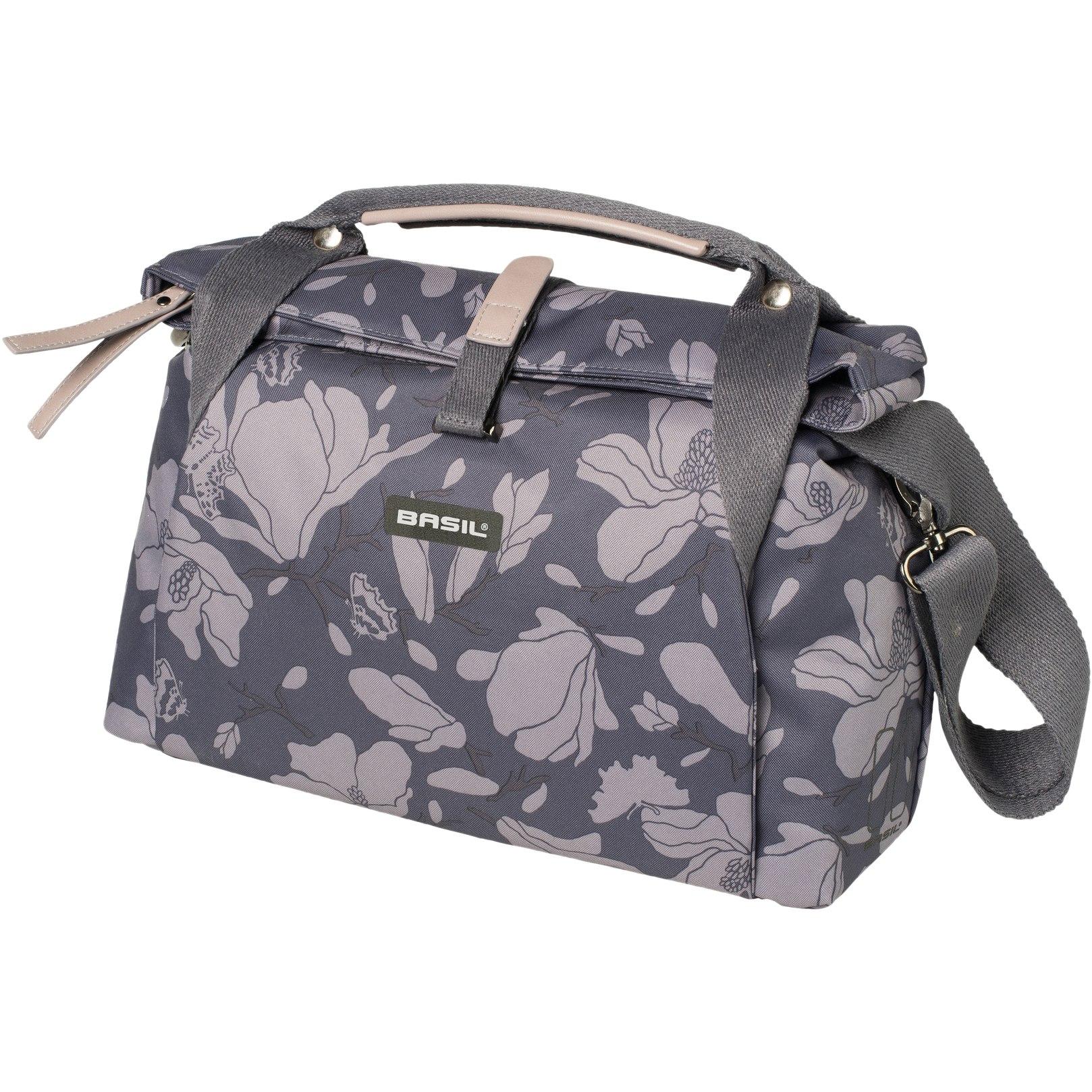Basil Magnolia City Bag - Handlebar Bag - blackberry
