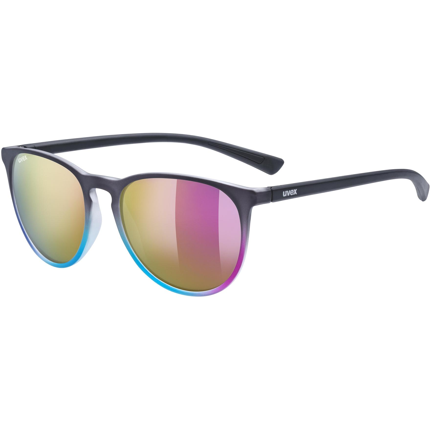 Uvex lgl 43 Brille - multicolor/mirror pink