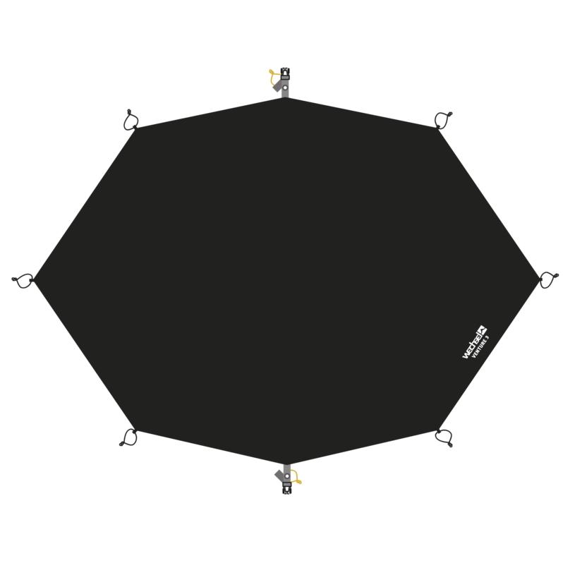 Wechsel Groundsheet Venture 3 - Black