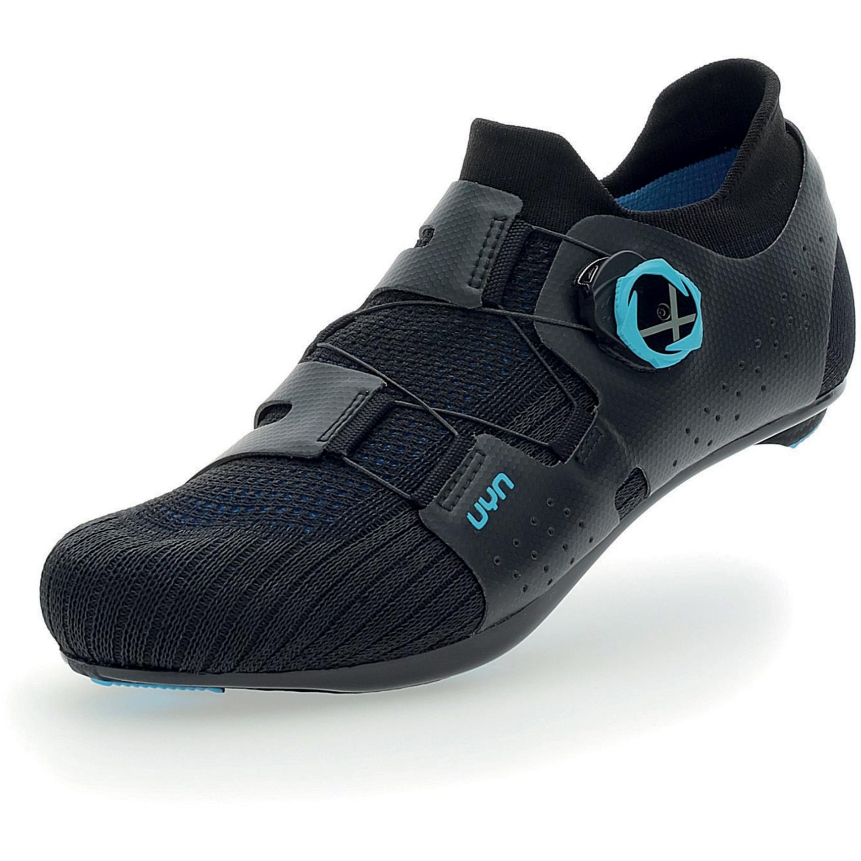 UYN Naked Carbon Rennradschuhe - Schwarz/Blau