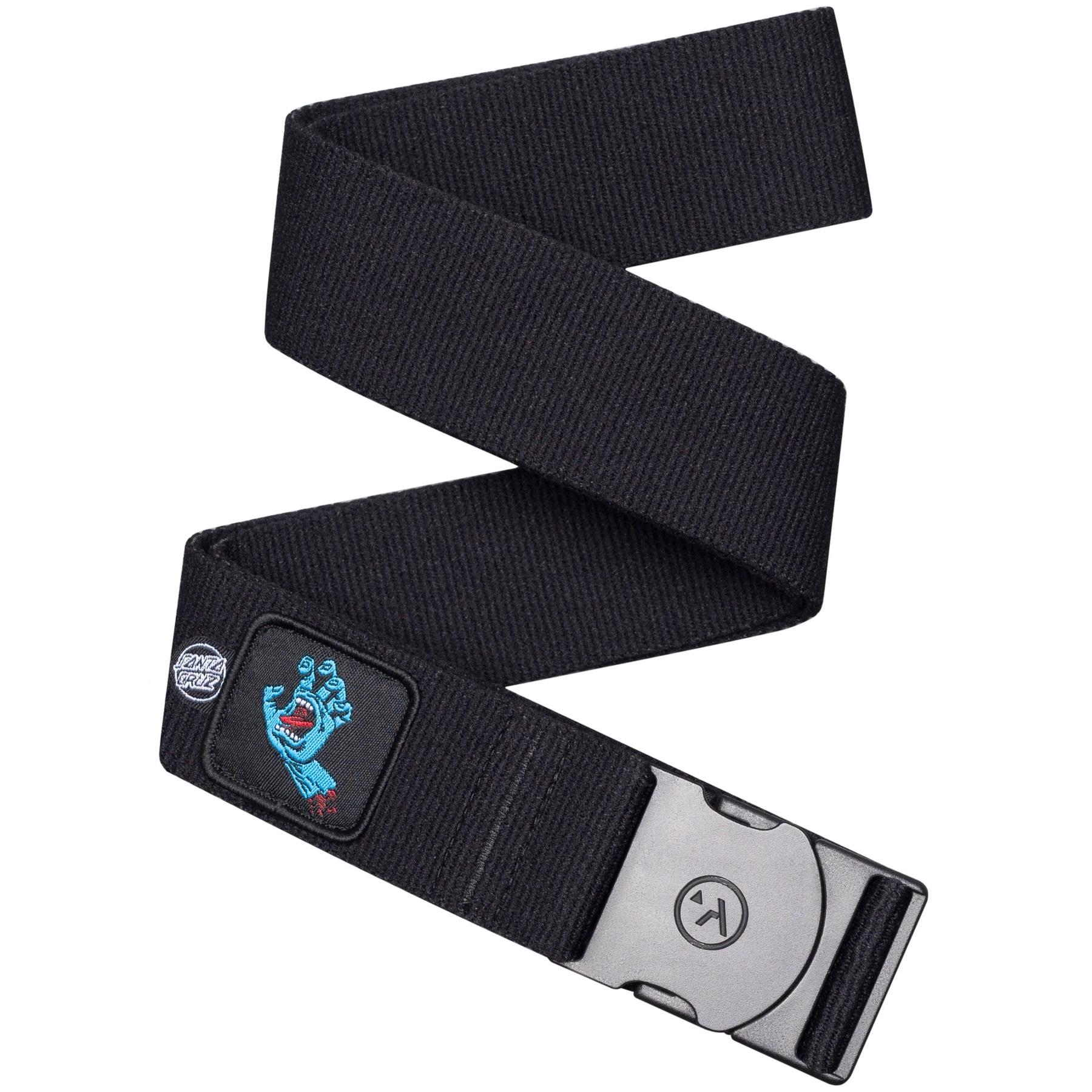 Arcade Rambler Santa Cruz Collab Belt - Black / Screaming Hand