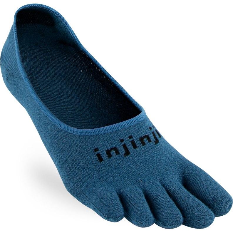 Image of Injinji Sport Lightweight Hidden Socks - steel