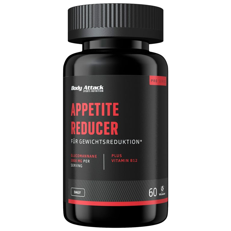 Body Attack Appetite Reducer Men - Nutritional Supplement - 60 Capsules