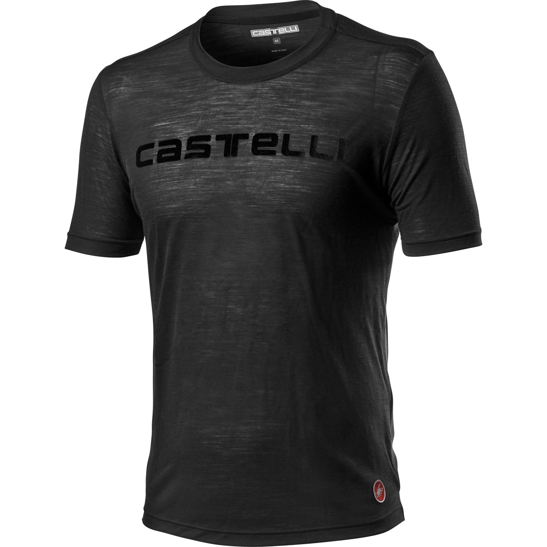 Produktbild von Castelli Merino T-Shirt - light black 085