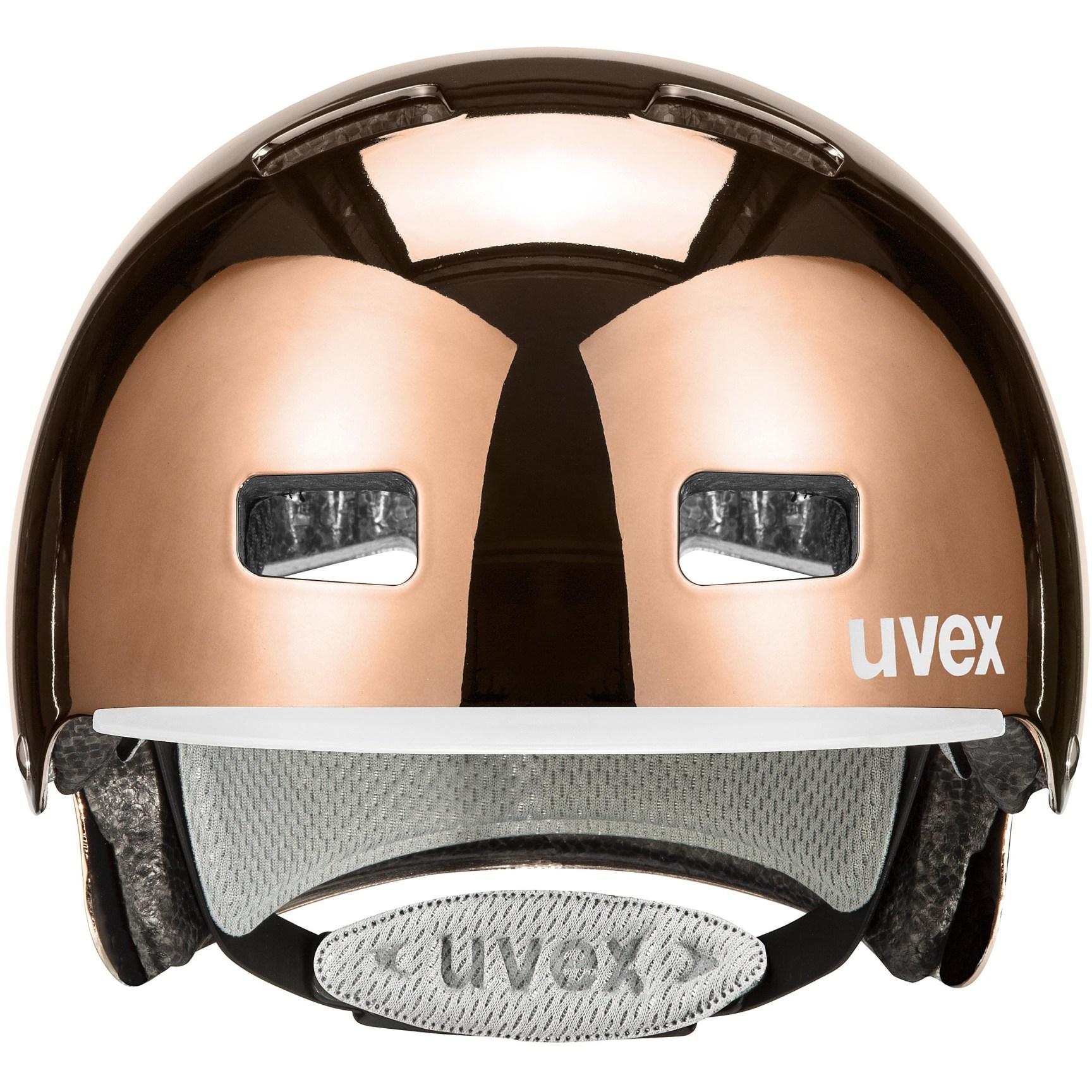 Image of Uvex hlmt 5 bike pro Helmet - rosé chrome