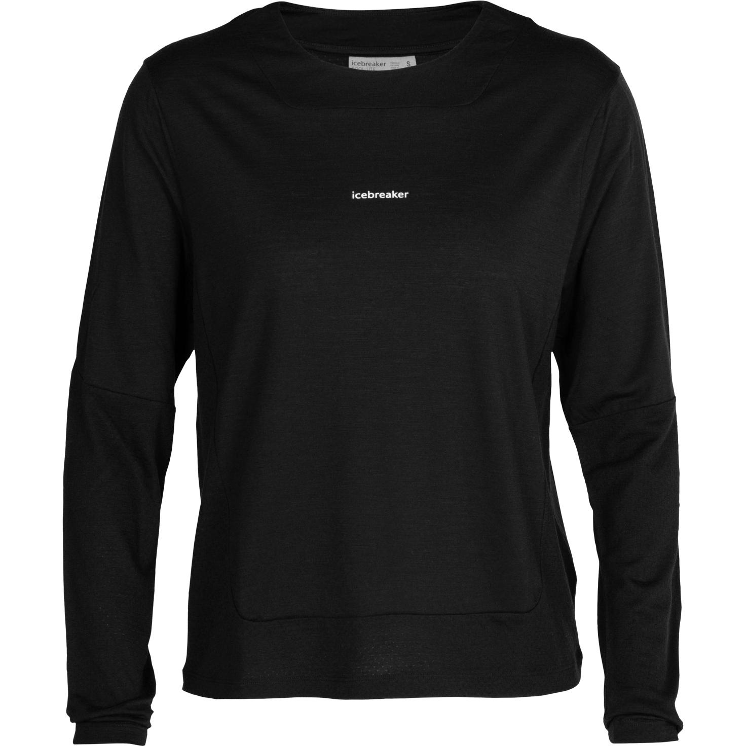 Produktbild von Icebreaker ZoneKnit™ Damen Langarmshirt - Black