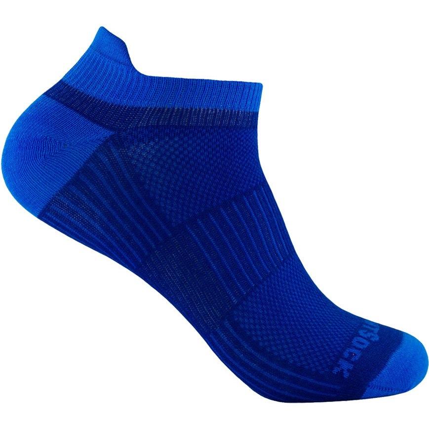 WRIGHTSOCK Coolmesh II Low Tab Double Layer Socks - royal-blue - 803-35