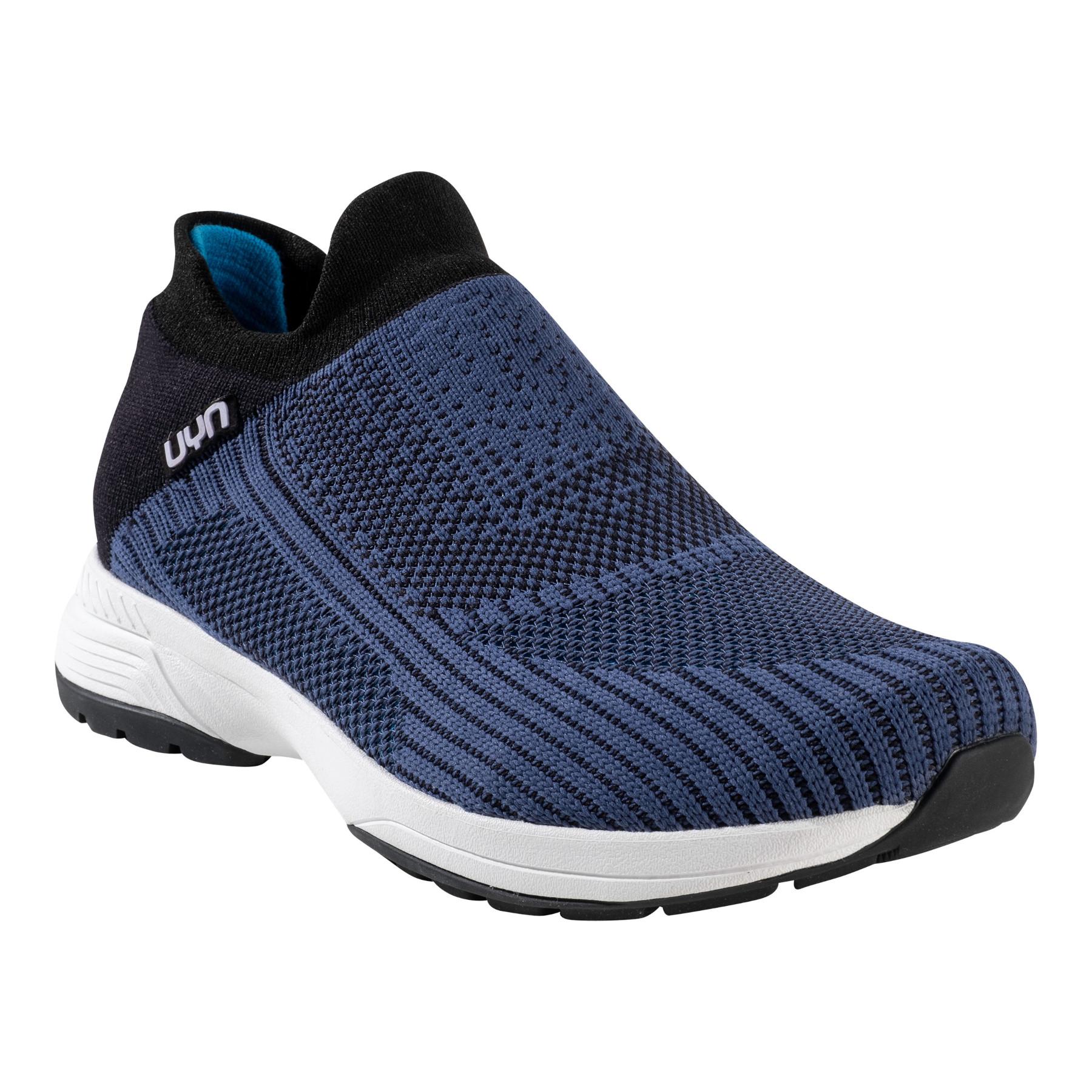 UYN Free Flow Grade Man Running Shoes - Blue/Black