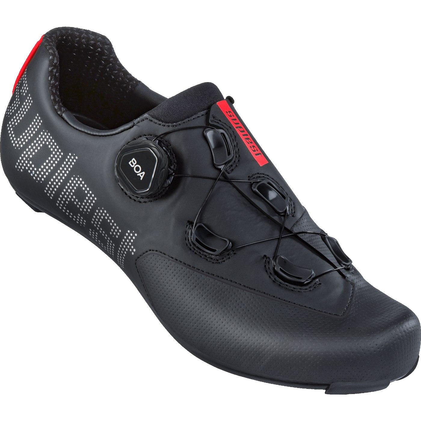 Suplest EDGE+ BOA L6 Road Sport Road Shoe - Black / Silver 01.067.