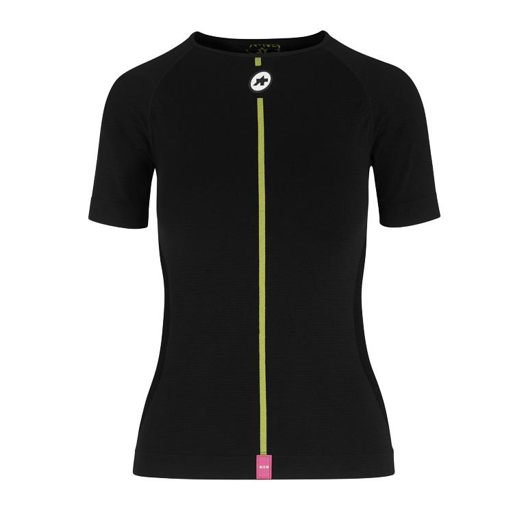 Assos BODY INSULATOR ASSOSOIRES Spring Fall Kurzarm-Skin Layer Unterhemd Damen - blackSeries