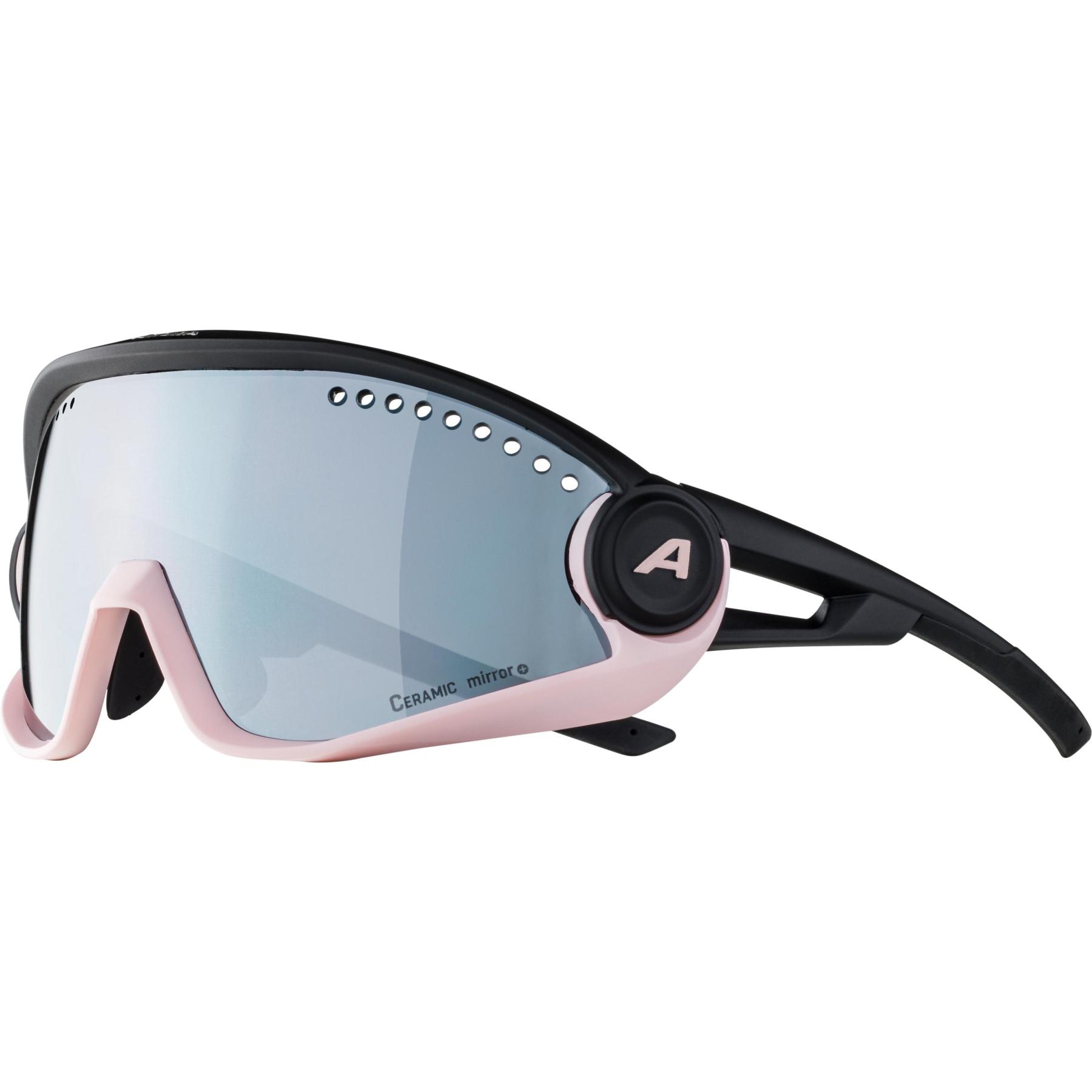 Image of Alpina 5W1NG CM+ Glasses - light-rose black / black mirror