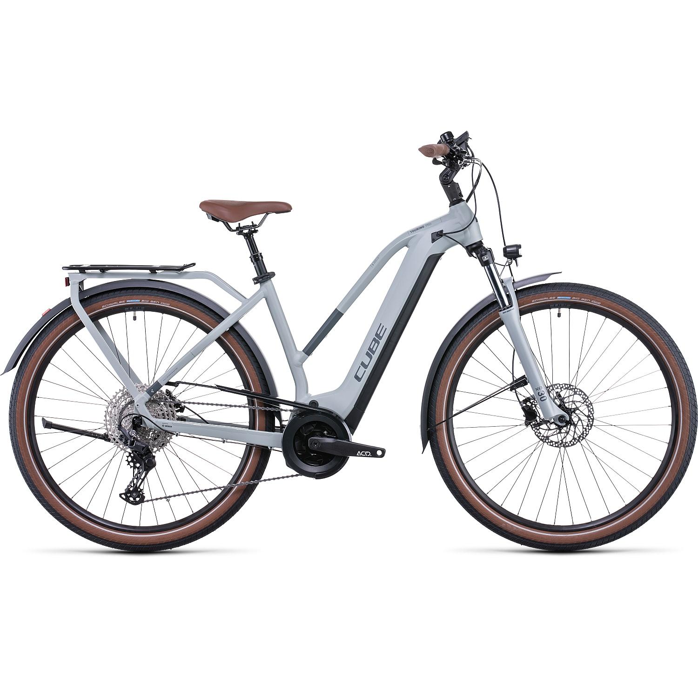 CUBE TOURING HYBRID Pro 625 - Bicicleta Eléctrica Mujer - 2022 - lunar/grey A00