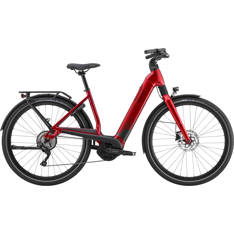 Cannondale MAVARO NEO 5 - 500 Wh City E-Bike - 2021 - Candy Red