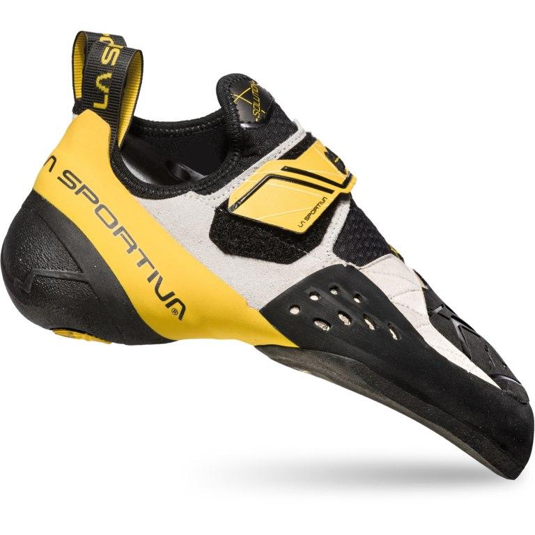La Sportiva Solution Climbing Shoes - White/Yellow