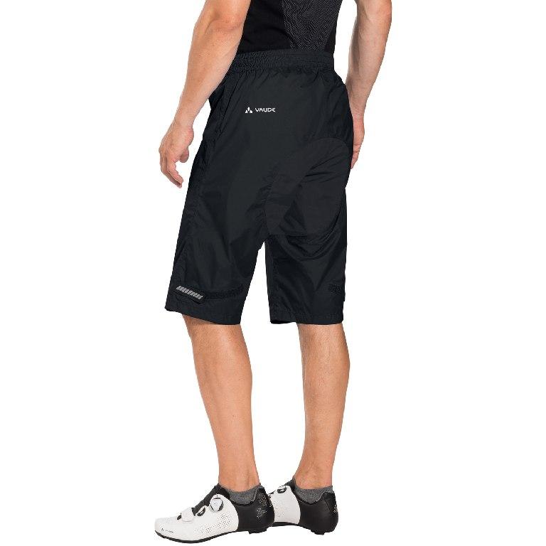 Bild von Vaude Drop Shorts Rad Regenhose - schwarz