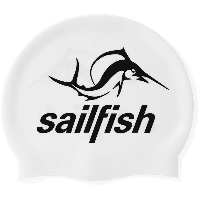sailfish Silikon Schwimmkappe 2021 - weiß