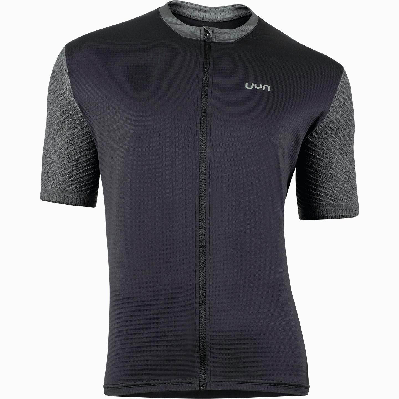 UYN Activyon MTB Full Zip T-Shirt - Black