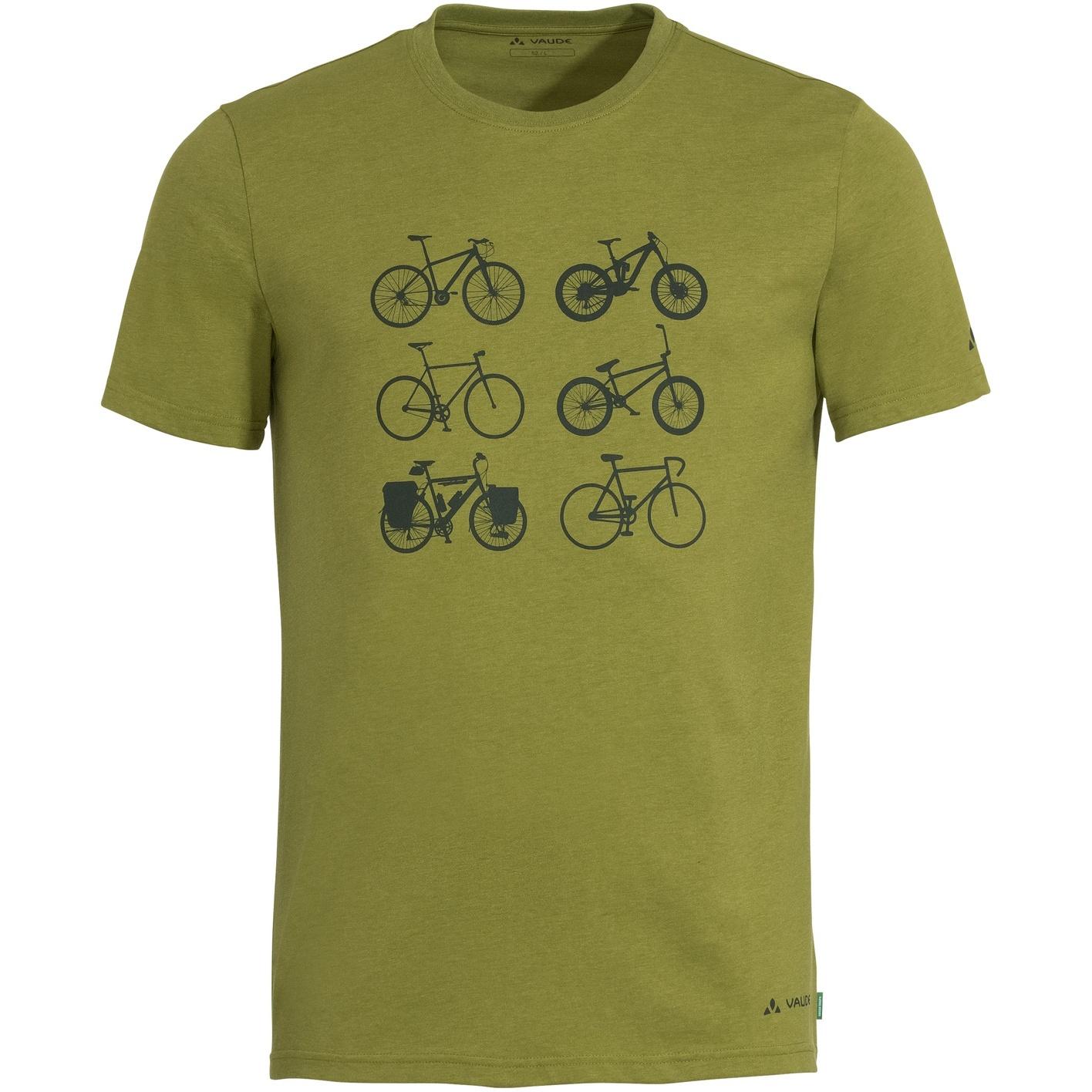 Bild von Vaude Cyclist T-Shirt V - avocado