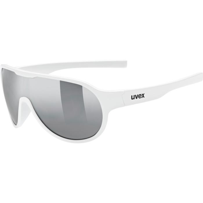 Uvex sportstyle 512 Kids Glasses - white/litemirror silver