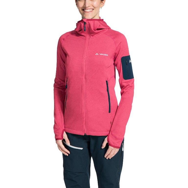 Bild von Vaude Women's Back Bowl Fleece Jacket II Damenjacke - bright pink