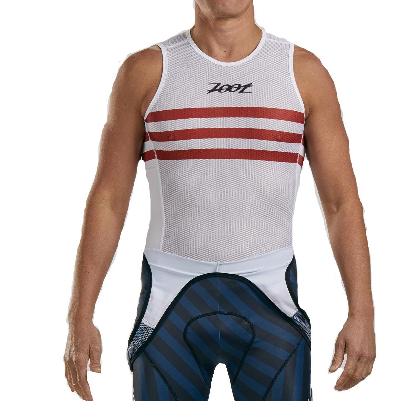 ZOOT LTD Cycle Base Layer Camiseta interior para bicicleta para hombres - riviera