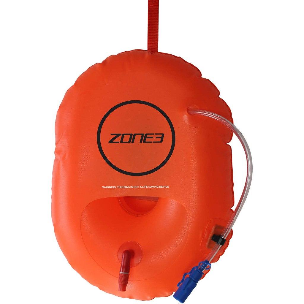 Zone3 Swim Buoy Dry Bag On-The-Go - orange