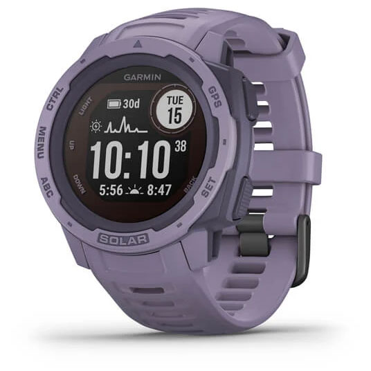 Garmin Instinct Solar GPS Smartwatch - rosa