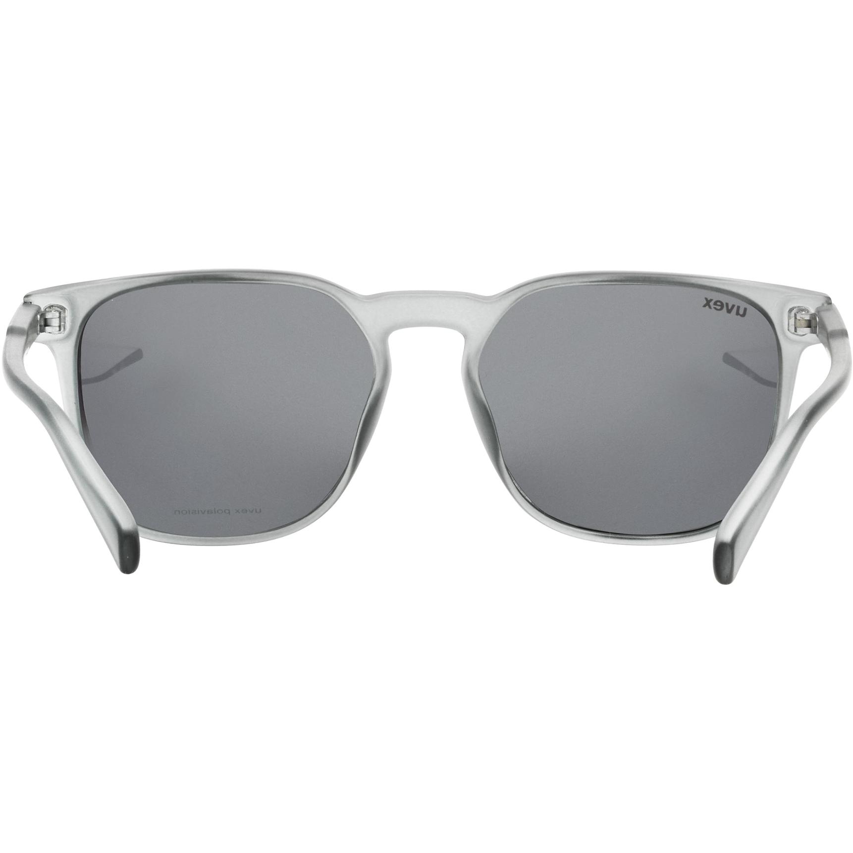 Image of Uvex lgl 49 P Glasses - smoke mat/polavision mirror silver