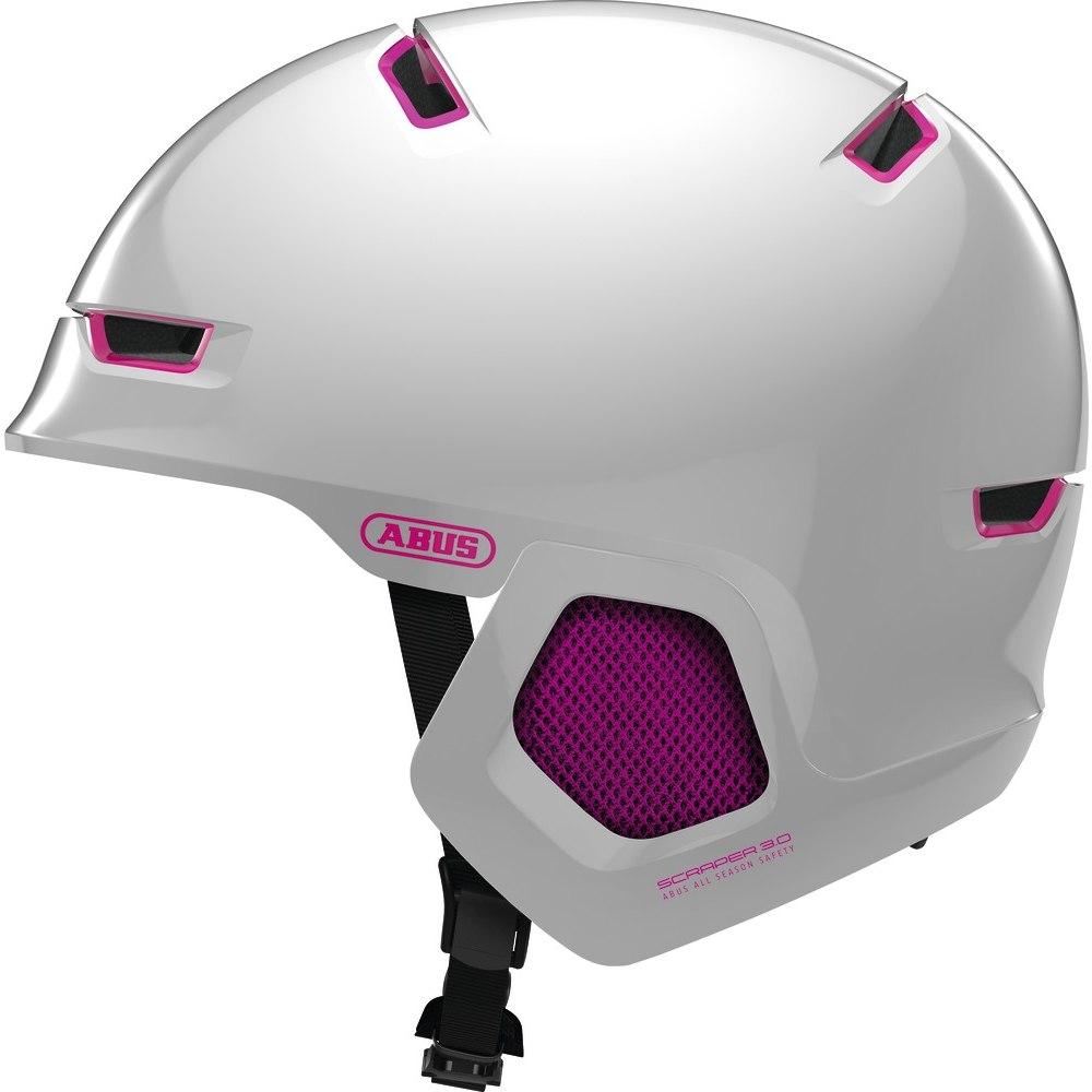 ABUS Scraper 3.0 ERA Helmet - pearl white