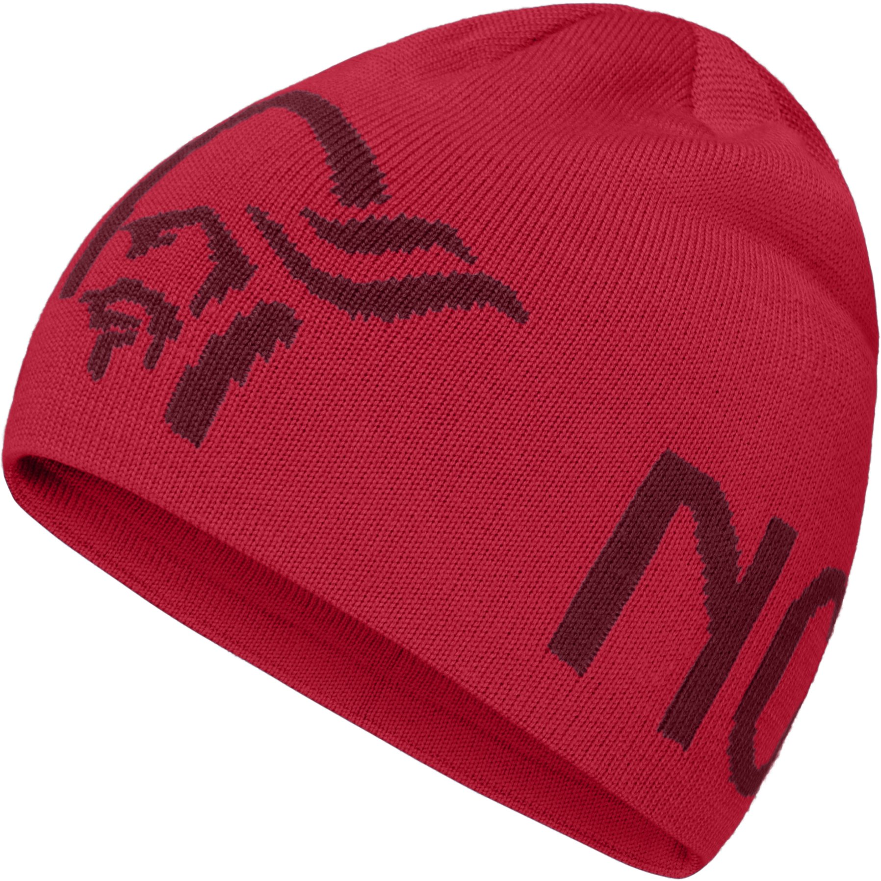 Norrona /29 Logo Beanie - True Red/Rhubarb