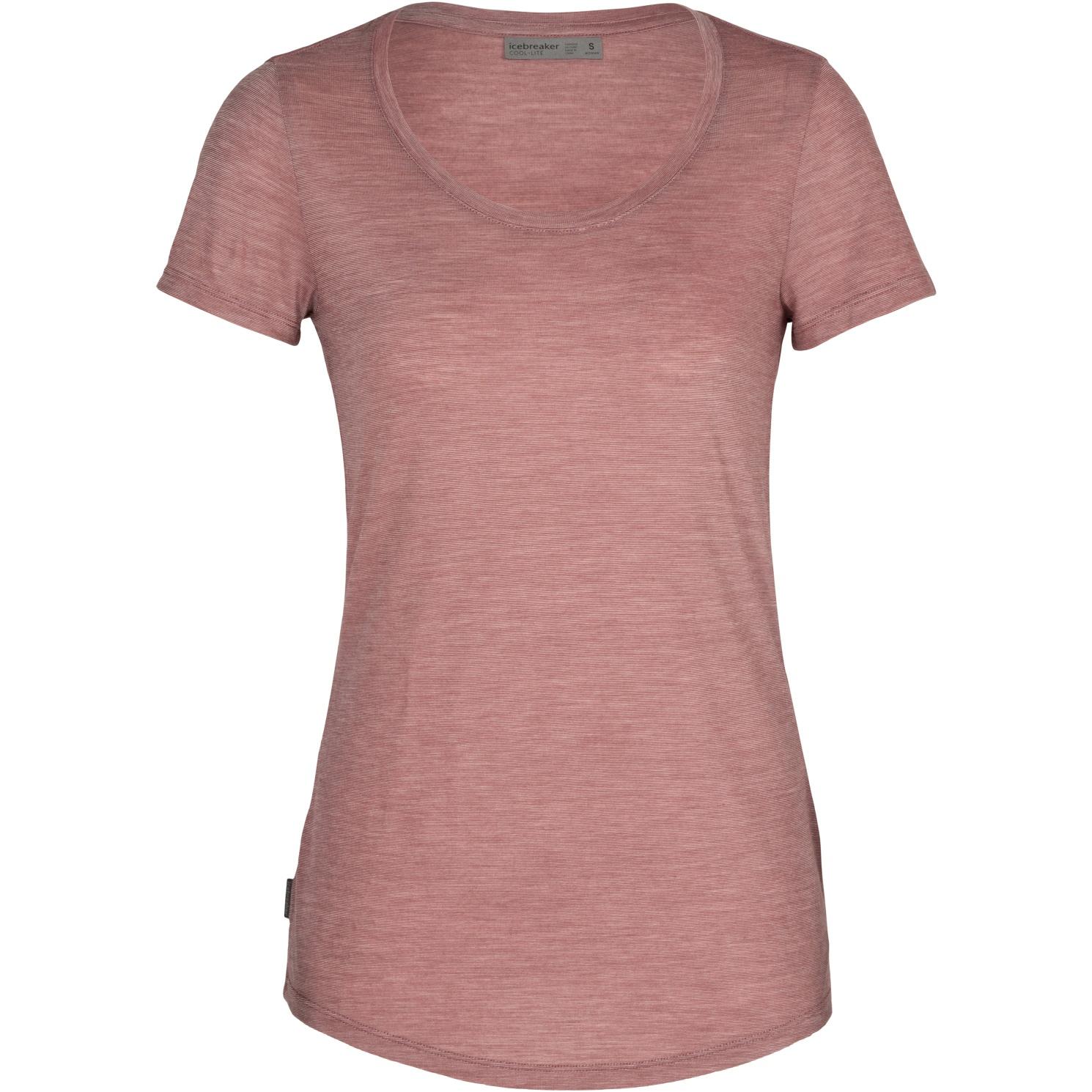 Produktbild von Icebreaker Sphere Scoop Damen T-Shirt - Suede