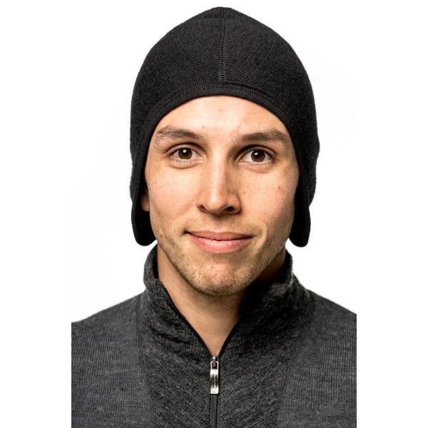 Image of Woolpower Helmet Cap 400 Under Helmet - black
