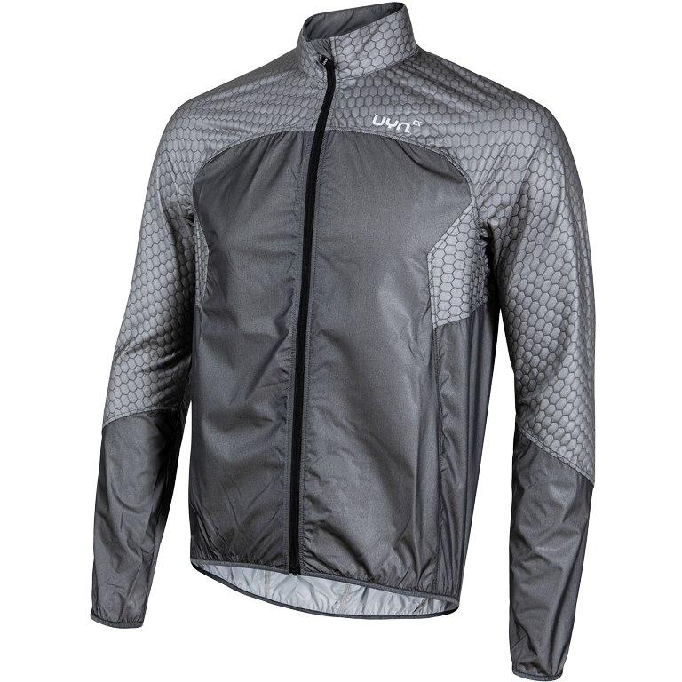 UYN Biking Alpha OW Packable Wind Jacket - Black Melange