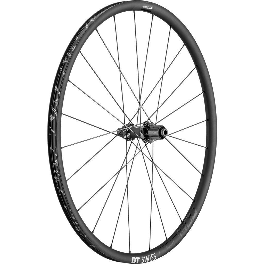 Imagen de DT Swiss CRC 1400 SPLINE db 24 - Carbon - Wheelset - Clincher - Centerlock - FW: 12/15x100mm/QR | RW: 12x142mm/QR