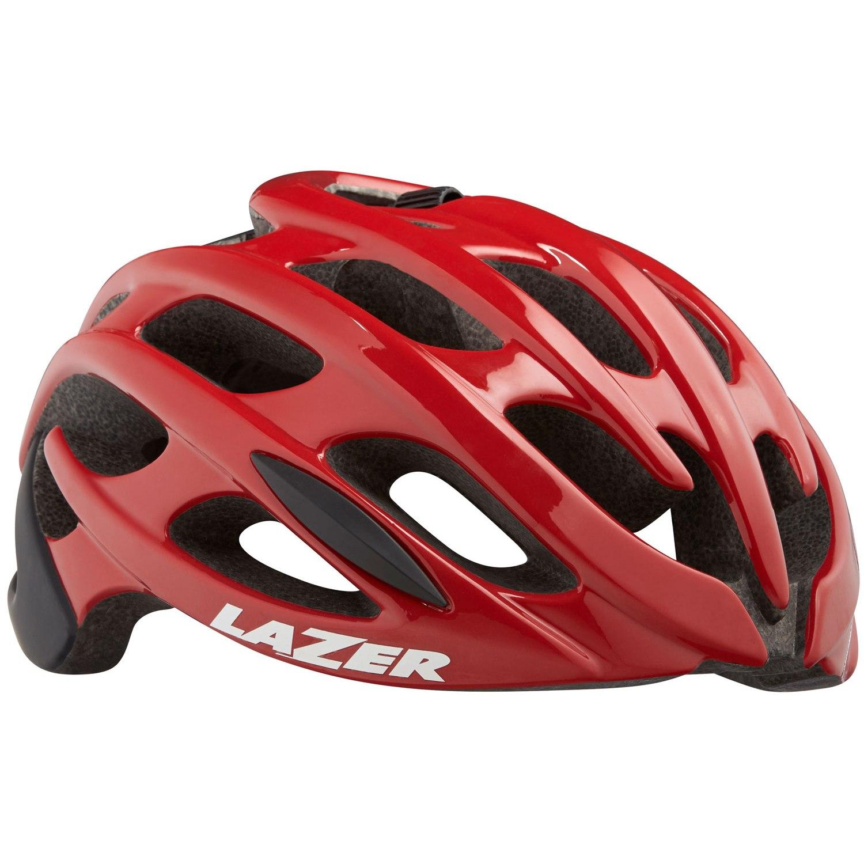 Lazer Blade+ Helm - red black