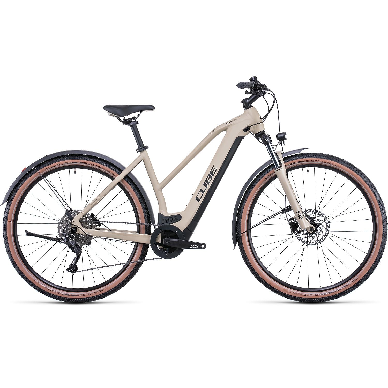 CUBE NURIDE HYBRID PRO 625 Allroad - Bicicleta Eléctrica Mujer - 2022 - desert/black A00