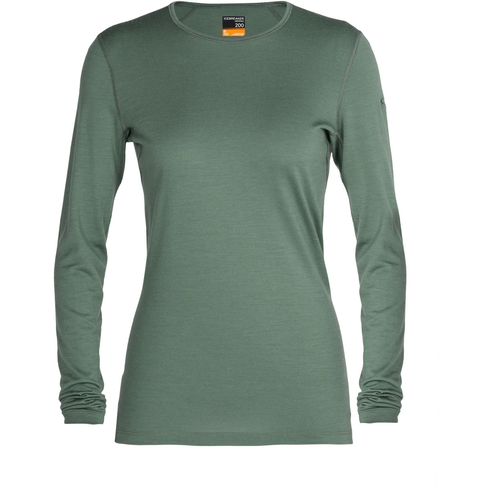 Produktbild von Icebreaker 200 Oasis Crewe Damen Langarmshirt - Sage
