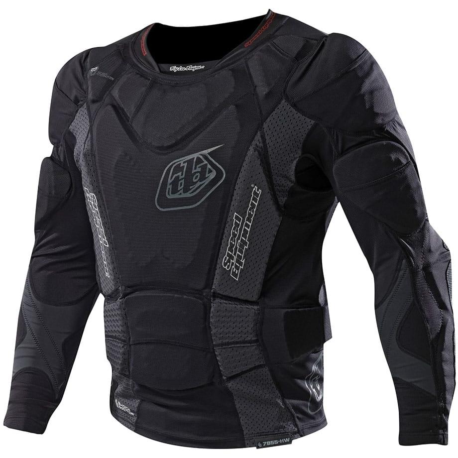 Produktbild von Troy Lee Designs UPL7855 HW LS Shirt youth - black