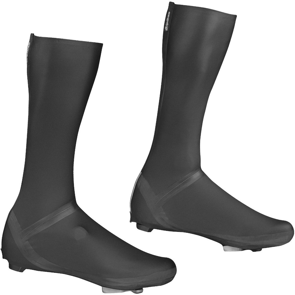 GripGrab Aqua Shield High Cut Road Shoe Covers - Black